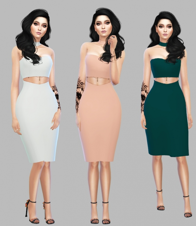 Senix Dress At Simply Simming 187 Sims 4 Updates