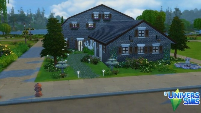 Sims 4 Nuptial restaurant by Falco at L'UniverSims