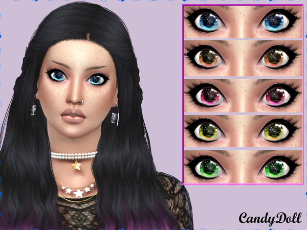 Star Bright Eyes by CandyDolluk at TSR image 2213 Sims 4 Updates