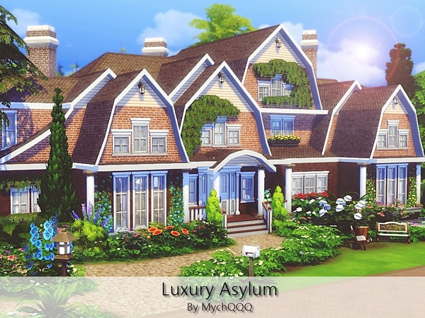 Luxury Asylum by MychQQQ at TSR image 2214 Sims 4 Updates