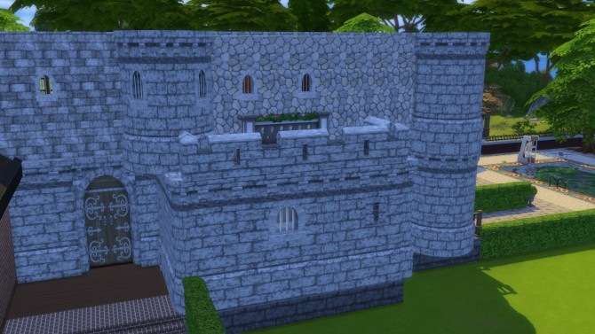 Sims 4 The Complete Castle by Castle Kits at SimsWorkshop