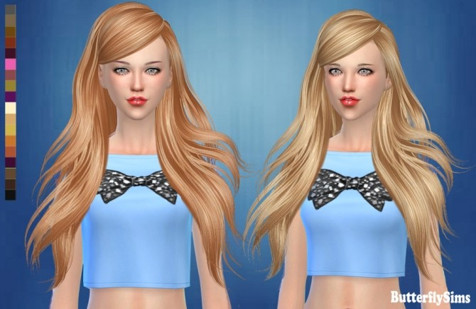 Hair af 181 No hat by YOYO at Butterfly Sims image 2221 670x436 Sims 4 Updates