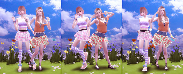 Sims 4 Combination pose 18 at A luckyday