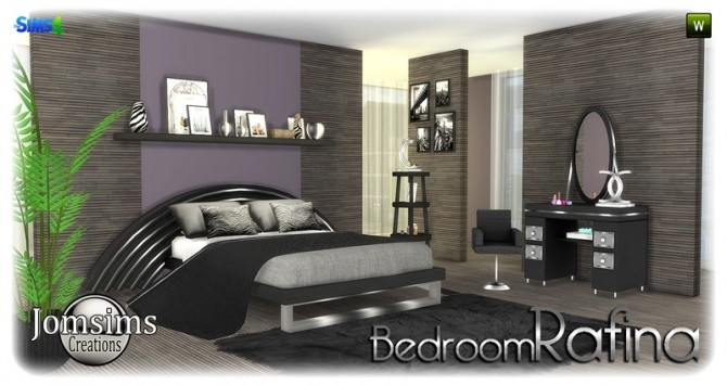 Rafina bedroom at Jomsims Creations image 2242 670x355 Sims 4 Updates