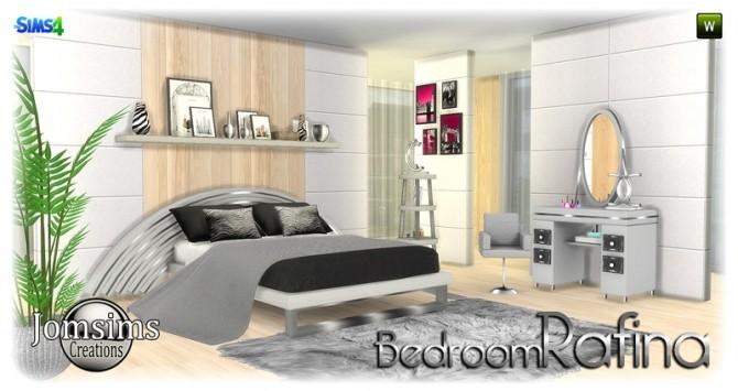 Sims 4 Rafina bedroom at Jomsims Creations