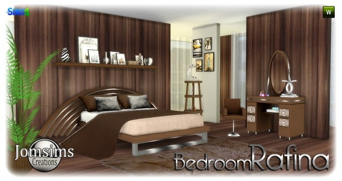 Rafina bedroom at Jomsims Creations image 2262 670x355 Sims 4 Updates