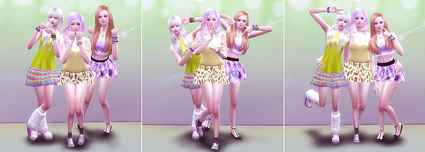 Sims 4 Combination pose 17 at A luckyday