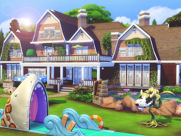 Luxury Asylum by MychQQQ at TSR image 2313 Sims 4 Updates