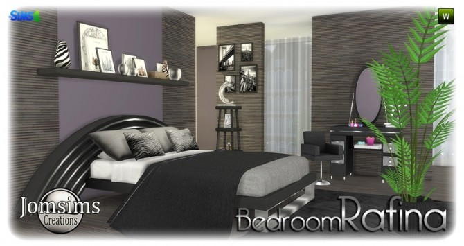 Rafina bedroom at Jomsims Creations image 2319 670x355 Sims 4 Updates