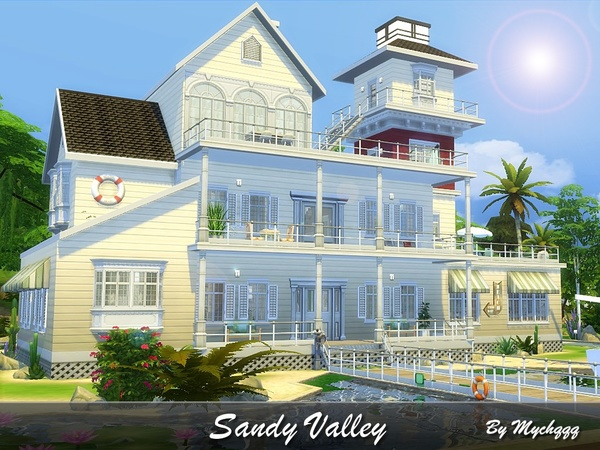 Sandy Valley house by MychQQQ at TSR image 2324 Sims 4 Updates