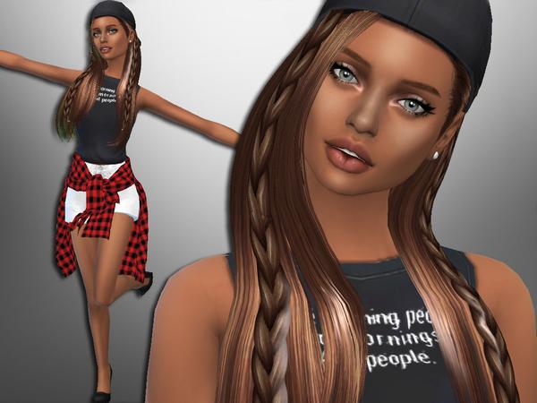 Sims 4 Marissa Blum by divaka45 at TSR