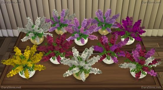 Flower Set 2 at Dara Sims image 2352 Sims 4 Updates