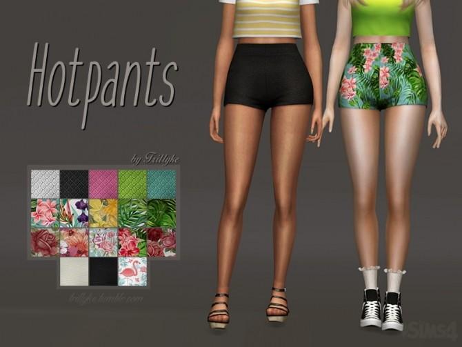Sims 4 Hotpants at Trillyke