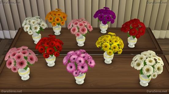 Flower Set 2 at Dara Sims image 2362 Sims 4 Updates