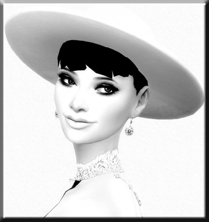 Audrey Hepburn by Mich Utopia at Sims 4 Passions image 2391 670x713 Sims 4 Updates