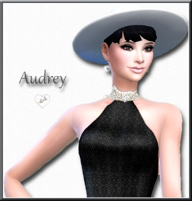 Audrey Hepburn by Mich Utopia at Sims 4 Passions image 2401 670x699 Sims 4 Updates