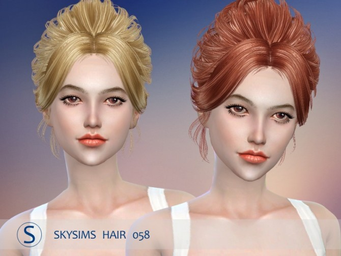 Hair 058 by Skysims (Pay) at Butterfly Sims image 24110 670x503 Sims 4 Updates