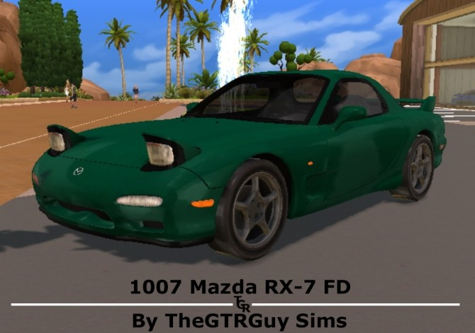 1997 Mazda RX 7 FD at TheGTRGuySims image 24111 670x471 Sims 4 Updates