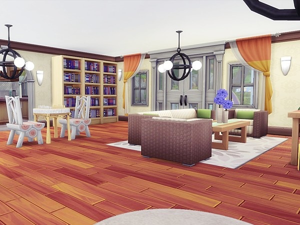 Luxury Asylum by MychQQQ at TSR image 2414 Sims 4 Updates