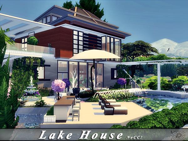 Lake House by Danuta720 at TSR image 2418 Sims 4 Updates