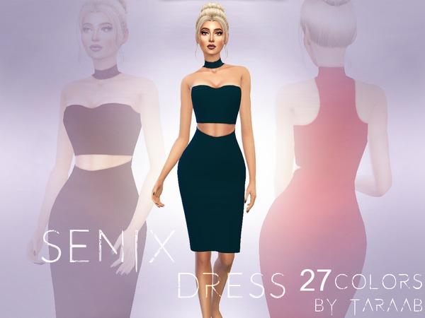 Senix Dress by taraab at TSR image 2419 Sims 4 Updates