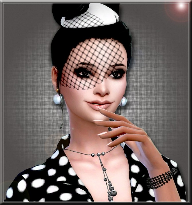 Audrey Hepburn by Mich Utopia at Sims 4 Passions image 2421 670x715 Sims 4 Updates