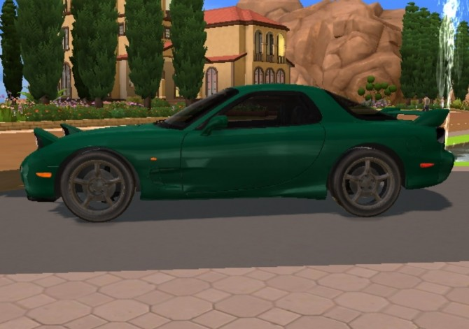 1997 Mazda RX 7 FD at TheGTRGuySims image 24210 670x471 Sims 4 Updates
