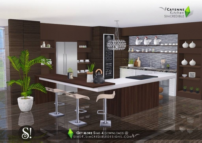 sims 4 kitchen downloads sims 4 updates. Black Bedroom Furniture Sets. Home Design Ideas