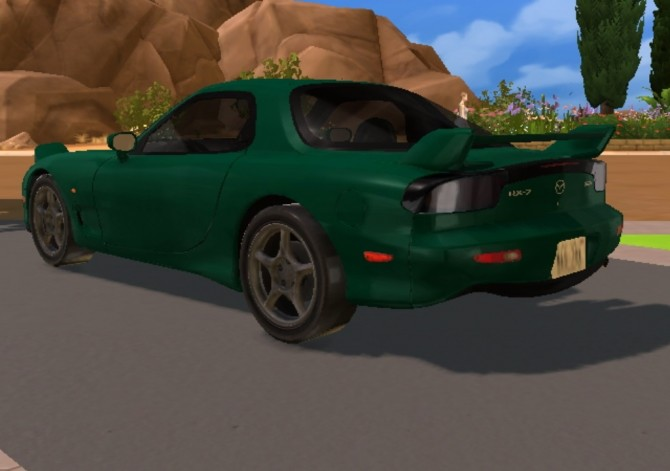 1997 Mazda RX 7 FD at TheGTRGuySims image 2444 670x471 Sims 4 Updates