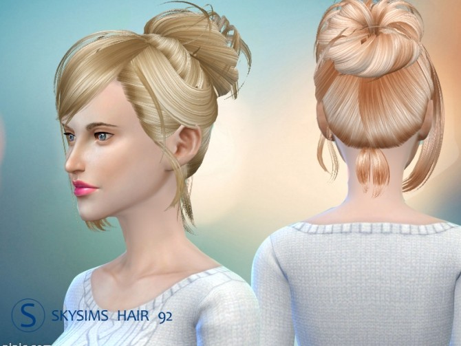 Hair 092 (free) by Skysims at Butterfly Sims image 2471 670x503 Sims 4 Updates