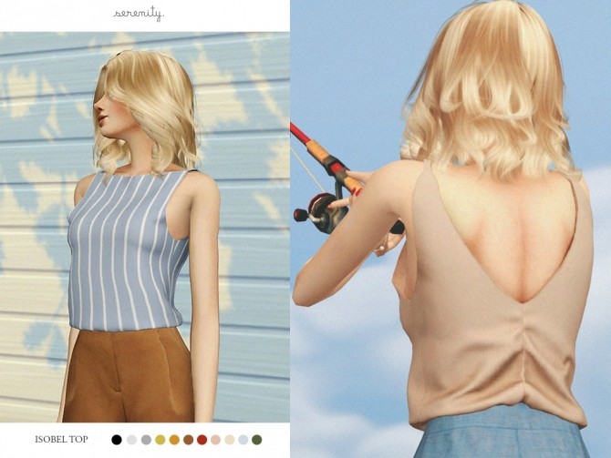 Isobel Top at SERENITY image 2502 670x503 Sims 4 Updates