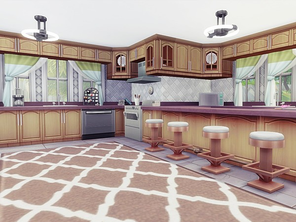 Luxury Asylum by MychQQQ at TSR image 2514 Sims 4 Updates