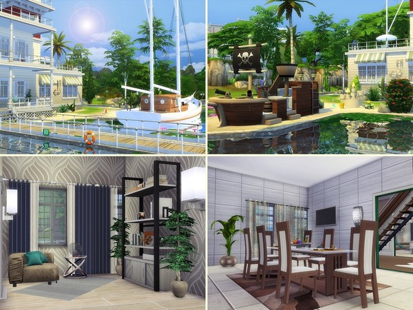 Sandy Valley house by MychQQQ at TSR image 2524 Sims 4 Updates