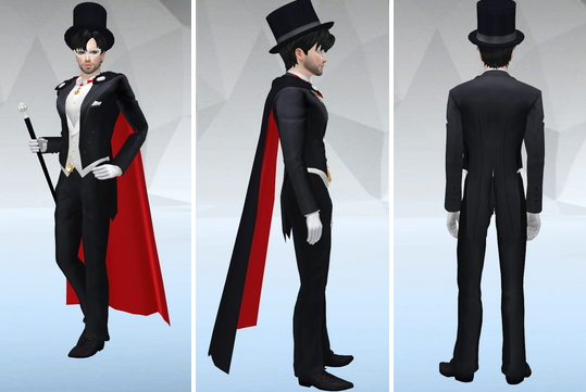 Tuxedo Mask V2 & King Endymion V2 at SilverMoon Sims image 253 Sims 4 Updates