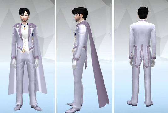 Tuxedo Mask V2 & King Endymion V2 at SilverMoon Sims image 254 Sims 4 Updates