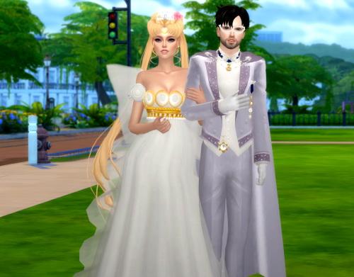 Tuxedo Mask V2 & King Endymion V2 at SilverMoon Sims image 255 Sims 4 Updates