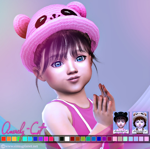 Bear Straw Hat at Anarchy Cat image 2573 Sims 4 Updates