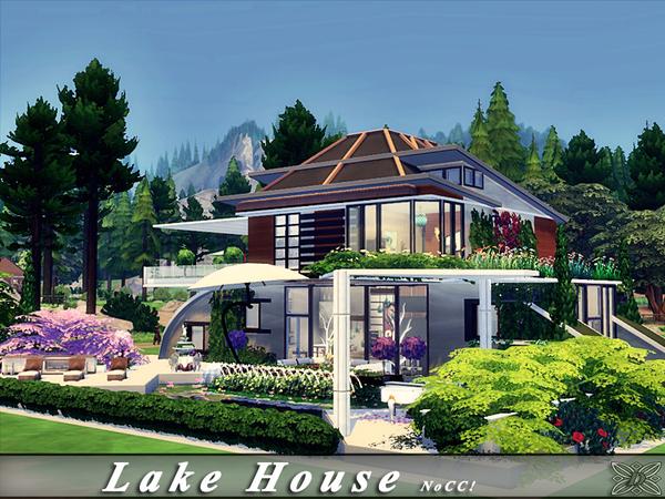 Lake House by Danuta720 at TSR image 2618 Sims 4 Updates