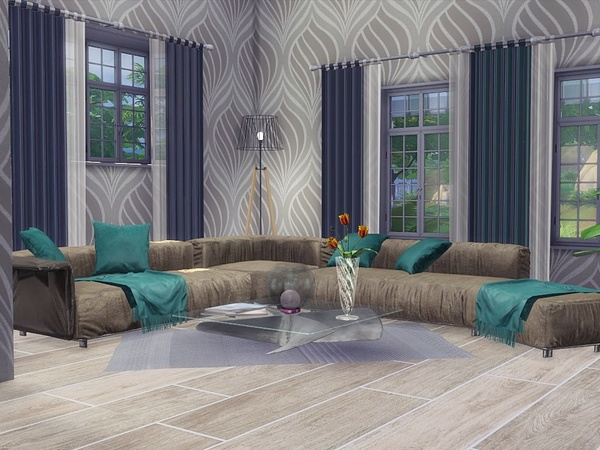 Sandy Valley house by MychQQQ at TSR image 2623 Sims 4 Updates