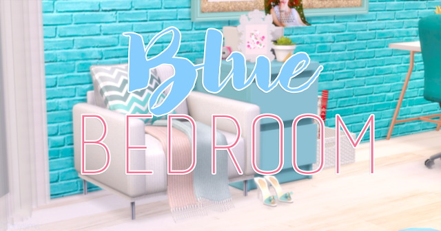 Blue Girl bedroom at Mony Sims image 2642 Sims 4 Updates