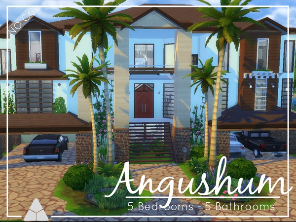 Angusham house by ProbNutt at TSR image 2713 Sims 4 Updates