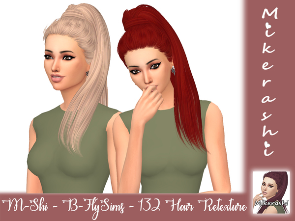 B FlySims 132 Hair Retexture by mikerashi at TSR image 2716 Sims 4 Updates