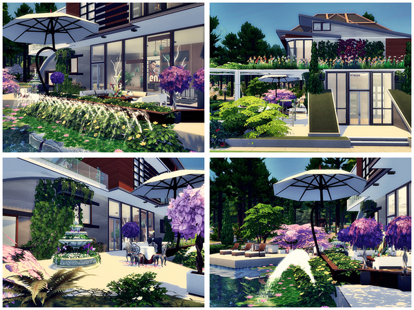 Lake House by Danuta720 at TSR image 2717 Sims 4 Updates