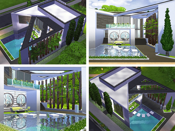 Sims 4 Otha home by Rirann at TSR