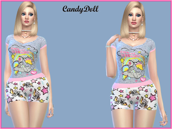 Sims 4 Sweet Dreams Set by CandyDolluk at TSR
