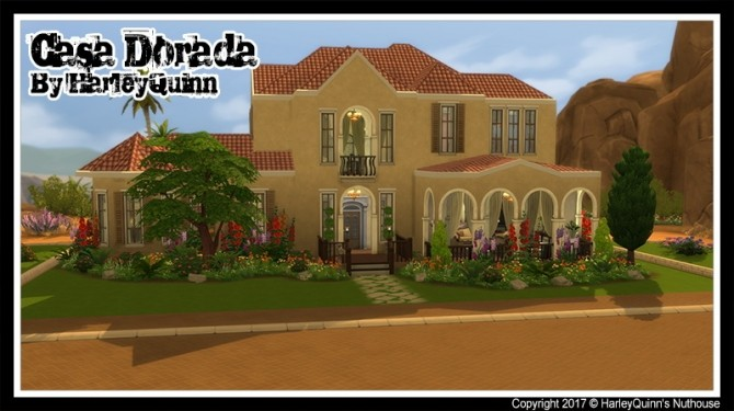 Casa Dorada at Harley Quinn's Nuthouse image 2721 670x375 Sims 4 Updates