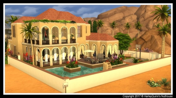 Casa Dorada at Harley Quinn's Nuthouse image 2731 670x375 Sims 4 Updates
