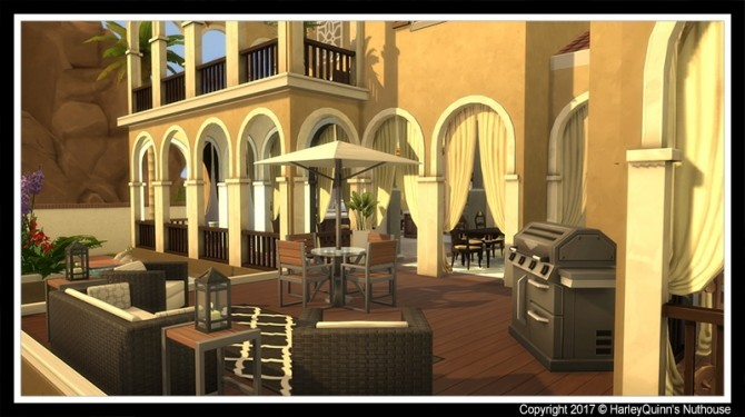 Casa Dorada at Harley Quinn's Nuthouse image 2741 670x375 Sims 4 Updates