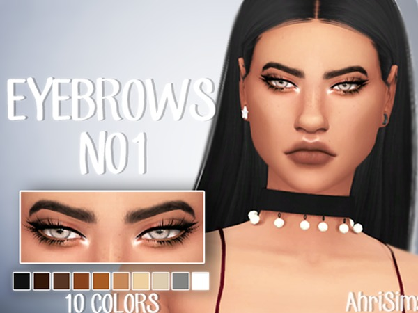 Eyebrows N01 by AhriSims at TSR image 2813 Sims 4 Updates