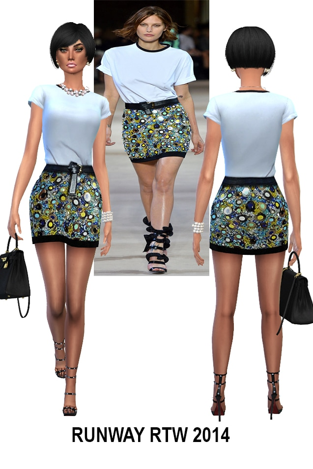 July 2017 collections L. and U. at Rhowc image 284 Sims 4 Updates